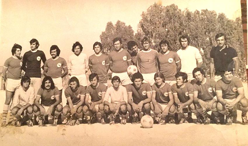 Η Ζάκυνθος 1977/78 σε φιλικό με τον Παναρκαδικό