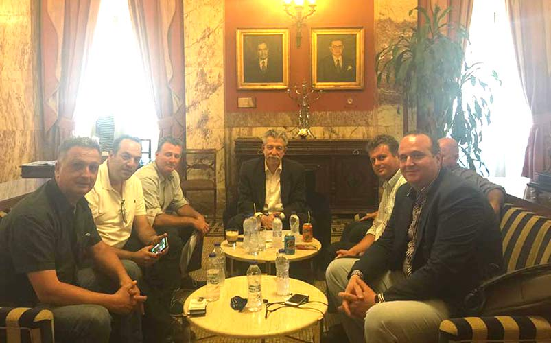 Έντονη η παρουσία των Αθλητικών Συλλόγων της Ζακύνθου στον Υφυπουργό Σταύρο Κοντονή
