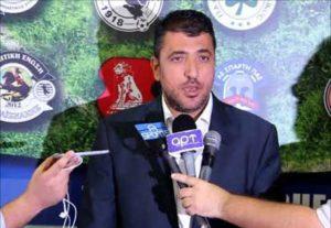 Επανεκλέχτηκε στην προεδρία της football league ο Λ. Λεουτσάκος
