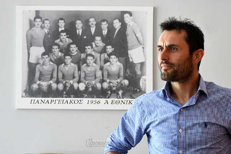 Παρελθόν ο Γιώργος Αντωνόπουλος από τον Παναργειακό…