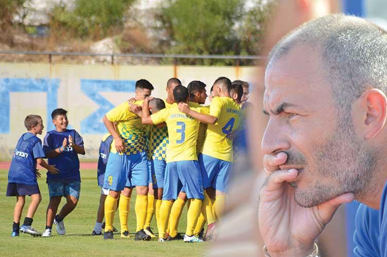 """Στάθης Καραμαλίκης: """" Όραμά μου μια Ζάκυνθος με γερά """"θεμέλια"""" και πολλούς ντόπιους ποδοσφαιριστές"""""""