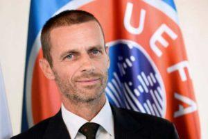 """Τσέφεριν: """"H UEFA δεν μπορεί να αποφασίσει ποια ομάδα θα κατακτήσει το εγχώριο πρωτάθλημα"""""""
