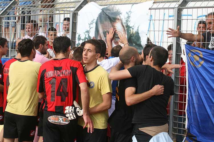27/5/2012: Τότε που η Ζάκυνθος έκανε ιστορική νίκη με τον Ηλυσιακό