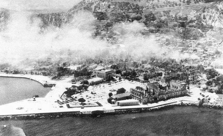 Η παλιά δόξα του Ολυμπιακού που είχε εγκλωβιστεί στα χαλάσματα της Ζακύνθου το 1953 (pics & vid)