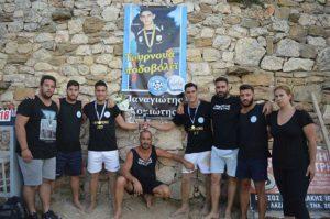 Σούρμπης και Καλλιβωκάς οι νικητές του τουρνουά ποδοβόλεϊ «Παναγιώτης Κομιώτης»