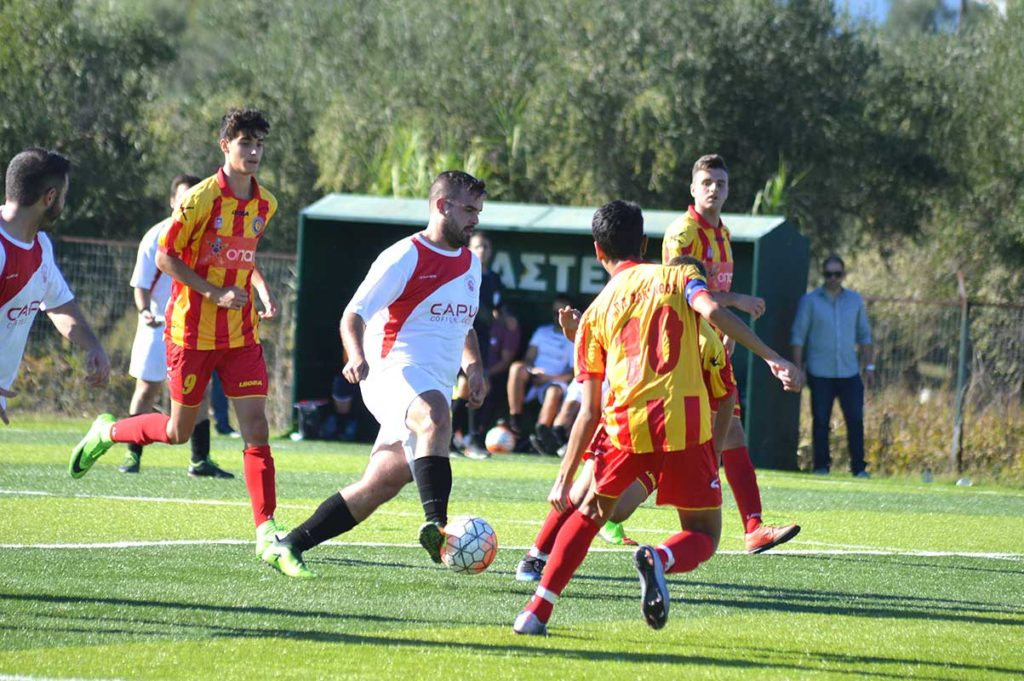 Με νίκη μπήκε στο πρωτάθλημα ο Αίολος Σαρακηνάδου 5-2 τον ΑΠΣ Ζάκυνθος