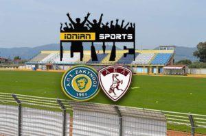 LIVE: ΑΠΣ ΖΑΚΥΝΘΟΣ – ΛΑΡΙΣΑ 0 – 1 (τελικό)