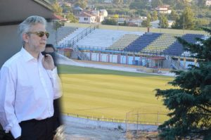 Ικανοποιημένος ο Σταύρος Κοντονής από την εξέλιξη των έργων στο Δημοτικό Στάδιο Ζακύνθου
