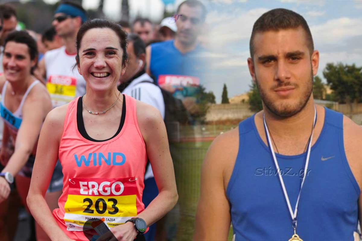 Μάγδα Γαζέα και Ανδρέας Θανάσης συμμετείχαν για λογαριασμό της ΑΓΕΖ στο Πανελλήνιο πρωτάθλημα Στίβου στην Πάτρα