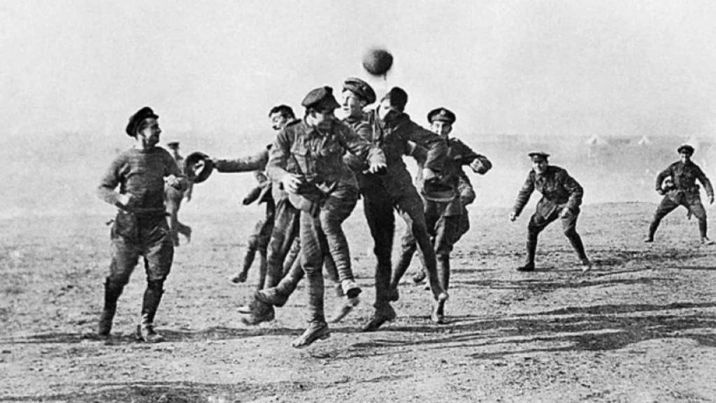 Οταν το ποδόσφαιρο σταμάτησε τον πόλεμο 104 χρόνια πριν….